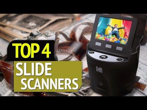 TOP 4: Best Slide Scanners 2019