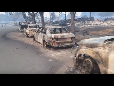 Santa Rosa Fire Tubbs Fire Aftermath October 9 2017