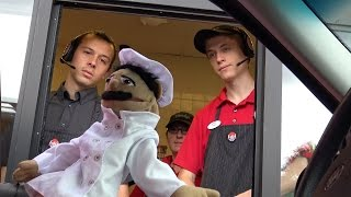 PUPPETS IN THE DRIVE THRU