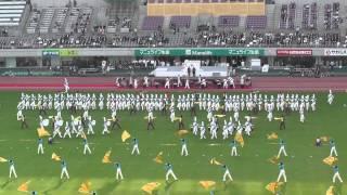 スポーツ祭東京2013オープニング 創価ルネッサンスヴァンガード