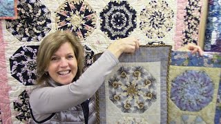 Part 1: Kaleidoscope Quilt And Table Runner Block | LetsMake Quilting Tutorial