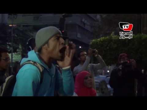 وقفة أمام «الصحفيين» للمطالبة بالإفراج عن نشطاء معتقلين