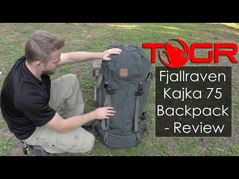 Something Truly Different! – Fjallraven Kajka 75 Backpack – Review