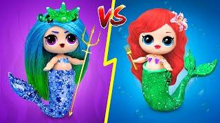 12 DIY Good Mermaid Vs Bad Mermaid Ideas