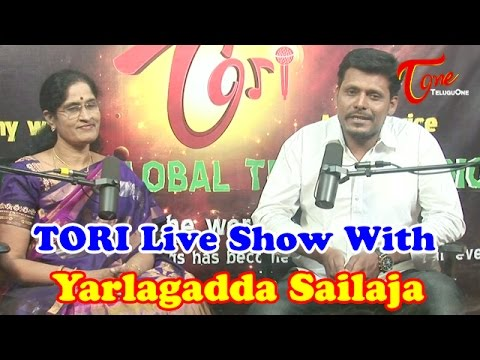 TORI Live Show With Yarlagadda Sailaja - Doordarshan Deputy Director