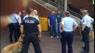 German Police Vs. Angry Lebanese Mob