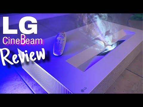 External Review Video AZ2Gb-aL9SI for LG CineBeam 4K UHD Projectors (HU85LA Laser & HU70LA LED)