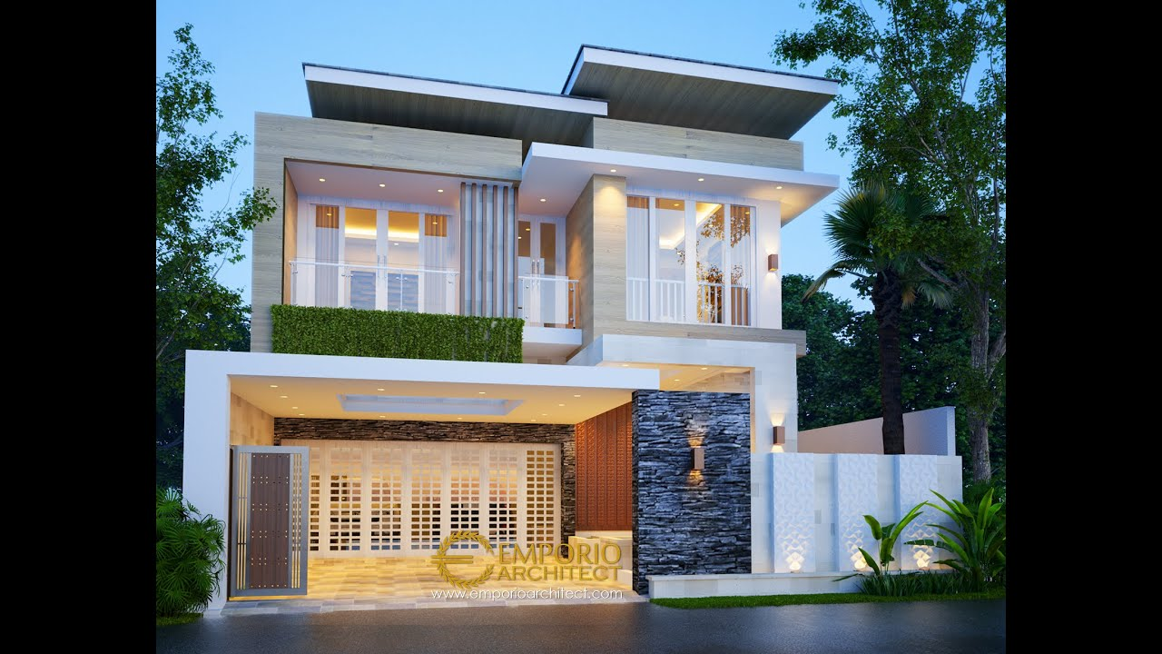 Video 3D Mr. Dwi Irawan Modern House 2 Floors Design - Cirebon, Jawa Barat