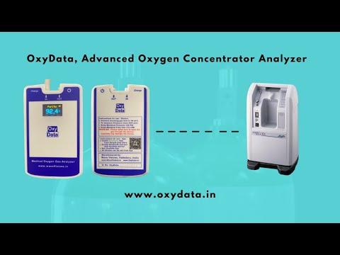 OxyData-C: Advanced Medical Oxygen Analyser | Oxygen Concentrator Analyser | Medical Oxygen Gas Analyser | FiO2 monitor