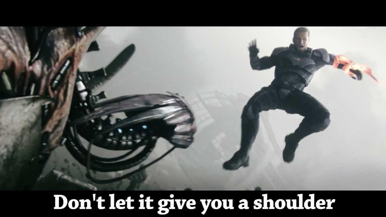 Brace Yourself, Mass Effect 3, A Giant Little Girl's Got You