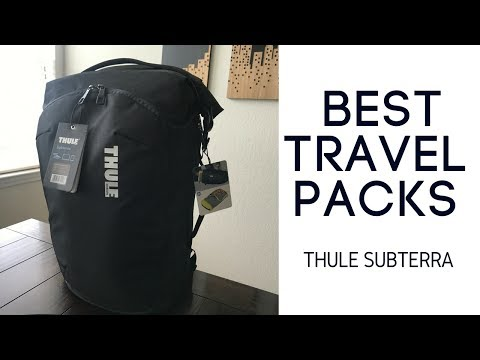 Best Travel Packs: Thule Subterra 34L Backpack Review
