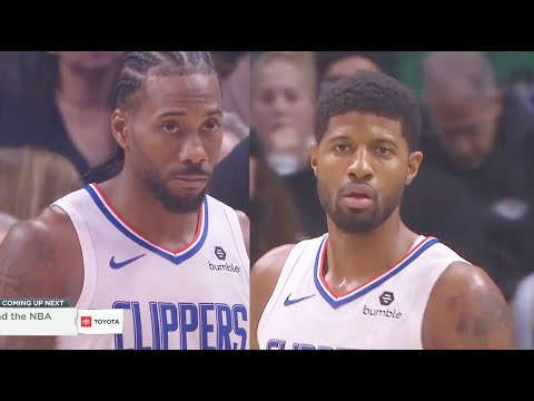 Kawhi Leonard & Paul George Clippers Duo Debut In Crazy Ending vs Celtics! Clippers vs Celtics