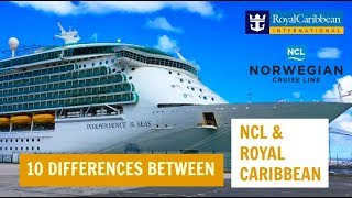 10 differences between NCL and Royal Caribbean