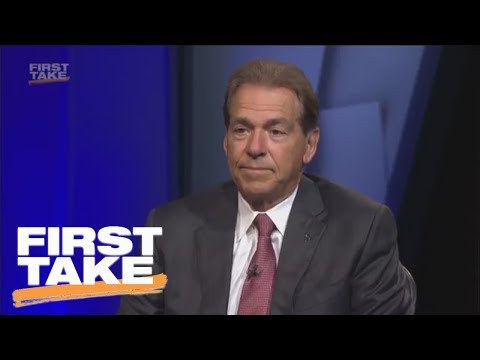 Nick Saban On Alabama's Loss To Clemson In National Championship | First Take | ESPN