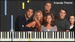 Friends Theme Song - Easy Piano Tutorial