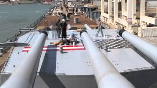 Battleship Iowa Comes Home