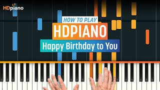 """How To Play """"Happy Birthday To You"""" 