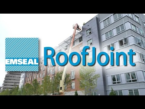 EMSEAL RoofJoint Overview Roof-to-Walls