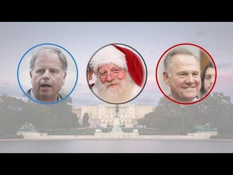 Santa and SpongeBob Helped Doug Jones Win in Alabama. Here's How.