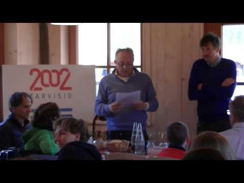 Preview video Video della festa di fine stagione 2014/15: il discorso del presidente Francesco Gibertini