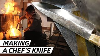 How Knives Are Made for New York's Best Restaurants — Handmade