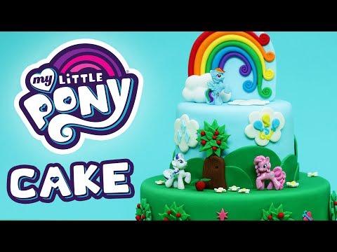 MY LITTLE PONY CAKE! - NERDY NUMMIES