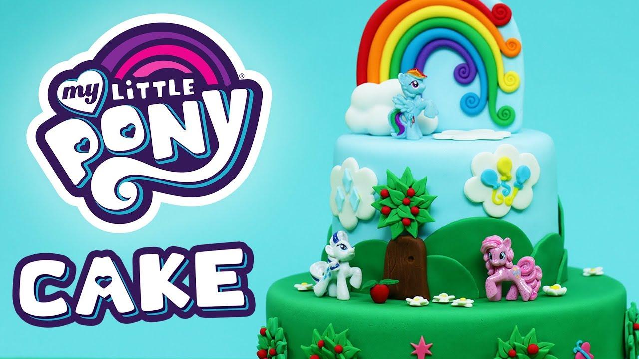 MY LITTLE PONY CAKE! - NERDY NUMMIES thumbnail