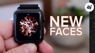 All The New Apple Watch Faces in watchOS 5!
