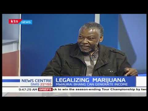 The legalization of the growth and use of marijuana