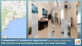 preview picture of video '3 slaapkamers 2 badkamers Appartement te Koop in Bel Air, Estepona, Malaga, Spain'