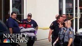 Gunman Injures 4 Outside Pennsylvania Courtroom | NBC Nightly News