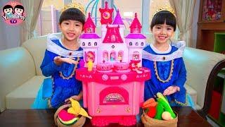 หนูยิ้มหนูแย้ม   โต๊ะทำอาหารเจ้าหญิง Princess Toys