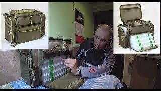 Рыболовные сумки для снастей с коробками