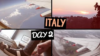 Flying Over To FLORENCE | ITALY Day Two