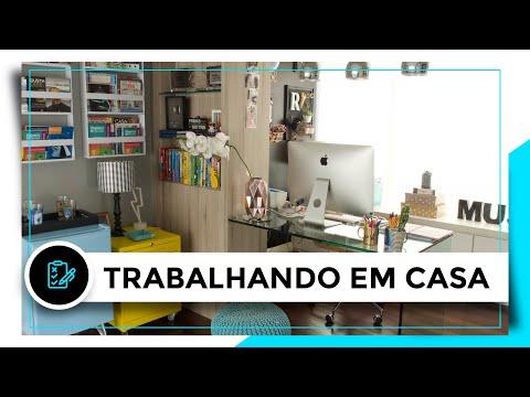 COMO SE ORGANIZAR TRABALHANDO EM CASA