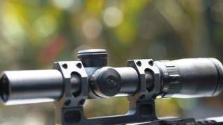 Bushnell Elite 1-6.5x SMRS BTR1 SFP 3Gun Scope Review