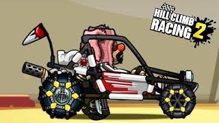 ПОДЪЕМ НА ГОРУ на РАЗНЫХ ТАЧКАХ Hill Climb Racing 2 game kids Мультяшная игра про машинки гонки