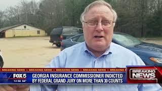 Georgia Insurance Commissioner indicted