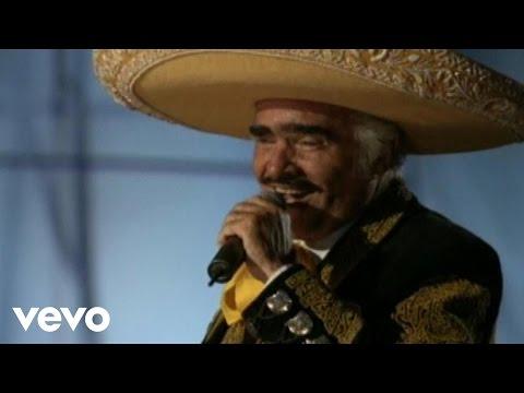 No Vulevo A Amar (En vivo) - Vicente Fernandez (Video)