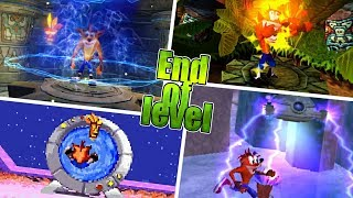 Evolution Of The End Of The Level In Crash Bandicoot Games
