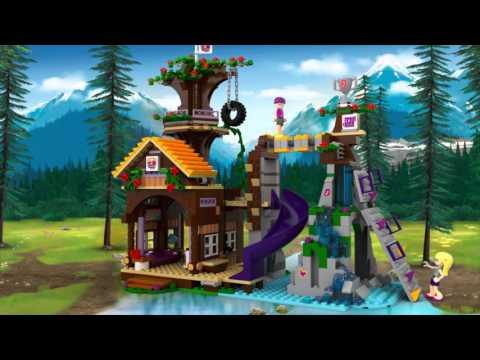 Vidéo LEGO Friends 41122 : La cabane de la base d'aventure