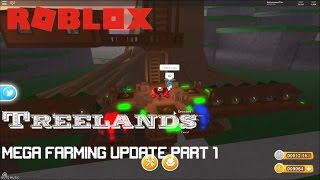 Roblox: TreeLands: UPDATE GAMEPLAY PART 1- Farming, Codes, And Vehicles!