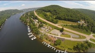 Summer Scenery in Garrett County, MD - Aerial Video