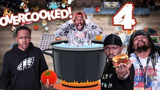 The STRUGGLES Of 4 Chefs On An EPIC Adventure! (Overcooked Story Ep.4)