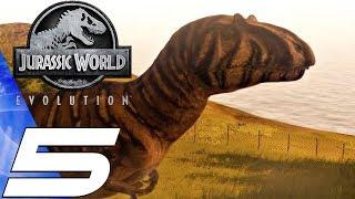 Jurassic World Evolution - Gameplay Walkthrough Part 5 - Dinosaur Rampage (Ultra Settings)