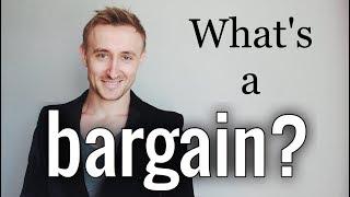 Что такое BARGAIN? Полезный английский