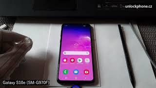 Nahravani hovoru Samsung Galaxy S10e SM G970F (Samsung call recording)