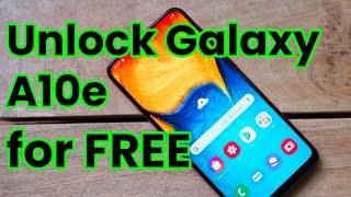 🔓 Unlock Samsung Galaxy A10e 🇺🇸 MetroPCS, AT&T, T-Mobile