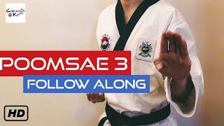 Taekwondo Poomsae 3 (Taegeuk Sam Jang)2020