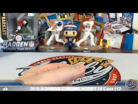 CASE #3 of 8 ----   2019 Topps CHROME JUMBO 8 Case (64 Box) PLAYER Break eBay 9/16/19
